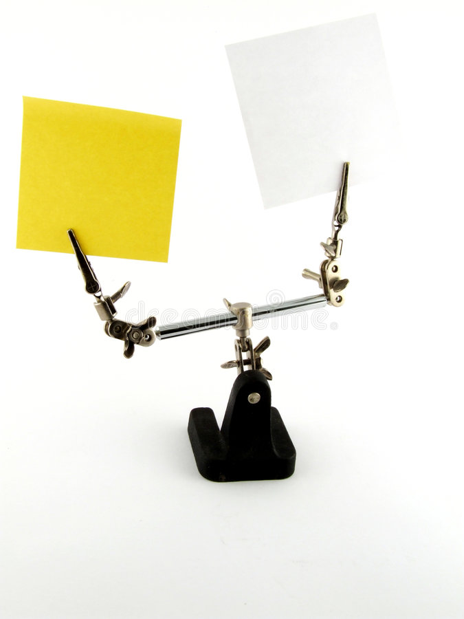 Download Lab Info Notes stock photo. Image of reminder, yellow - 3563564