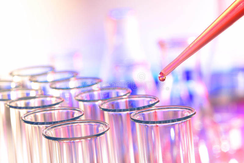 lab laboratorium badania nauki testa tubki zdjęcia stock