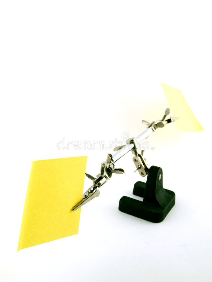 Lab Note stock photography