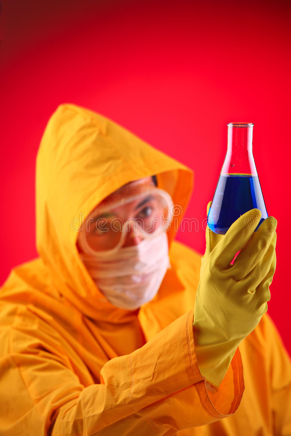 Lab scientist royalty free stock images