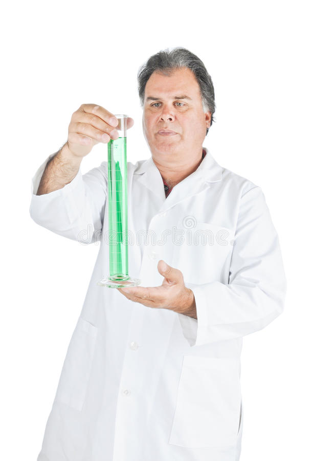 Download Lab Technician stock image. Image of beaker, isolated - 20466203