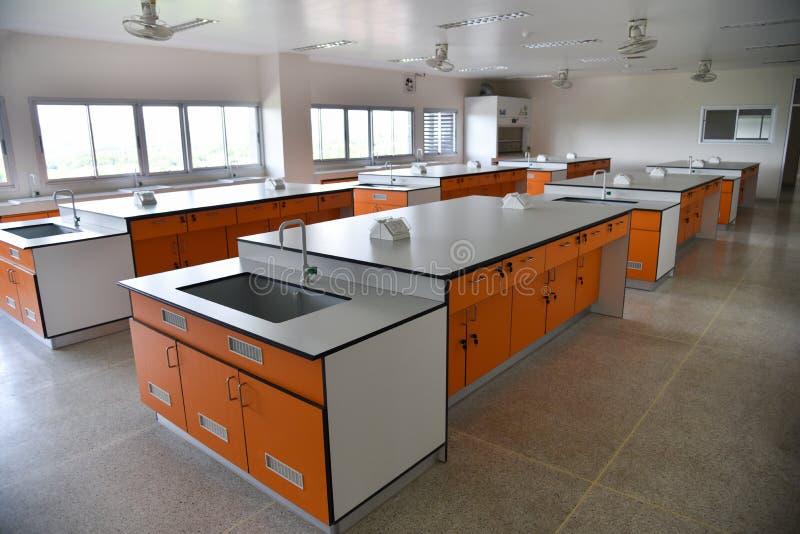 Lab wnętrze fotografia stock