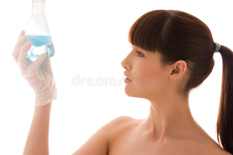 Download Lab work stock image. Image of education, holding, attractive - 9624939