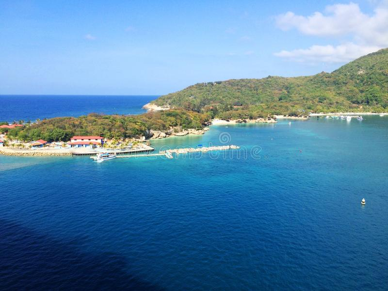 Labadee,海地 免版税库存照片