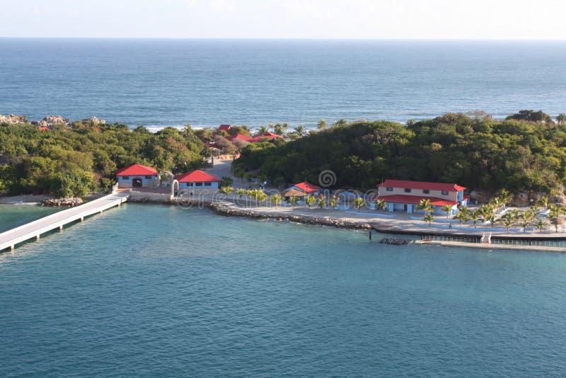 labadee Гаити стоковые фотографии rf