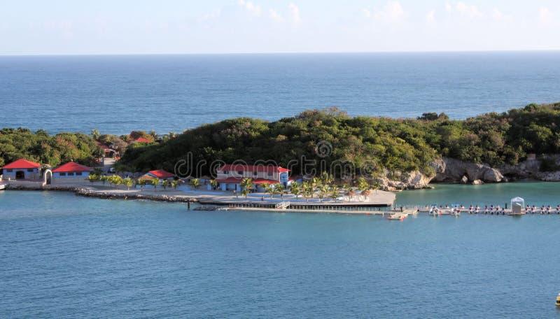 Labadee Haiti fotografia de stock royalty free