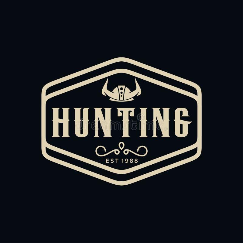 Label antique de frontière de cadre gravant la rétro typographie d'emblème de pays pour l'inspiration occidentale de Logo Design  illustration stock