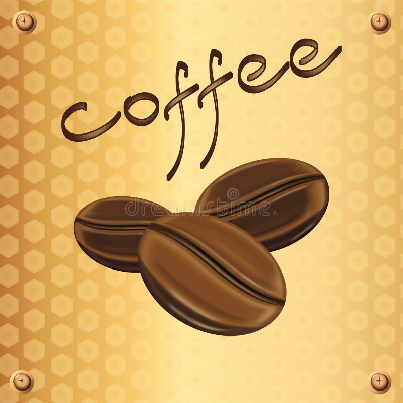 Label de café photographie stock libre de droits