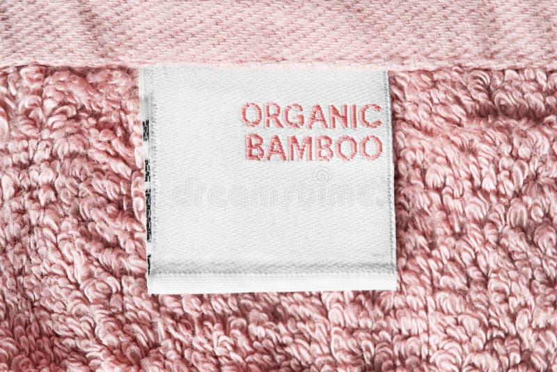 Label de vêtements de composition photo libre de droits