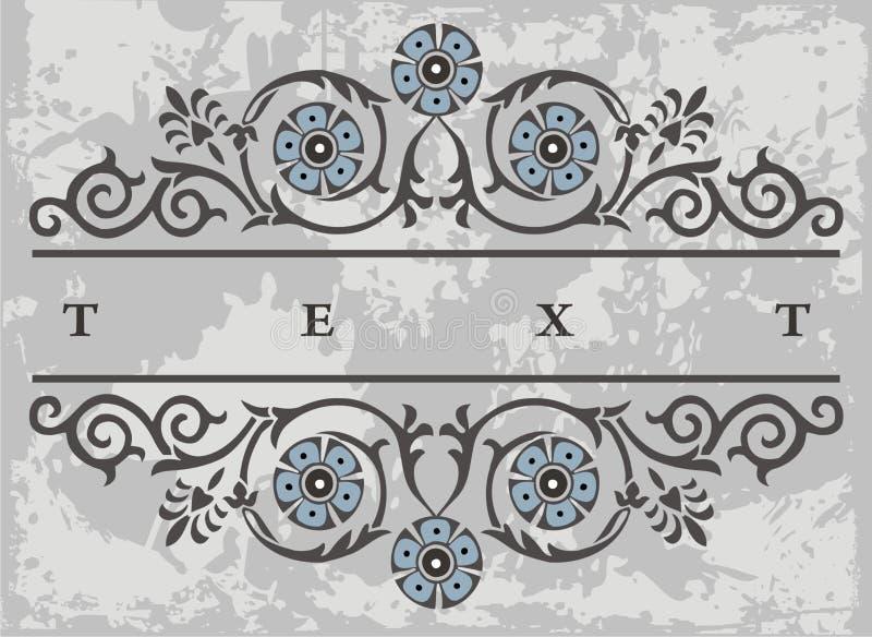 Label element stock illustration