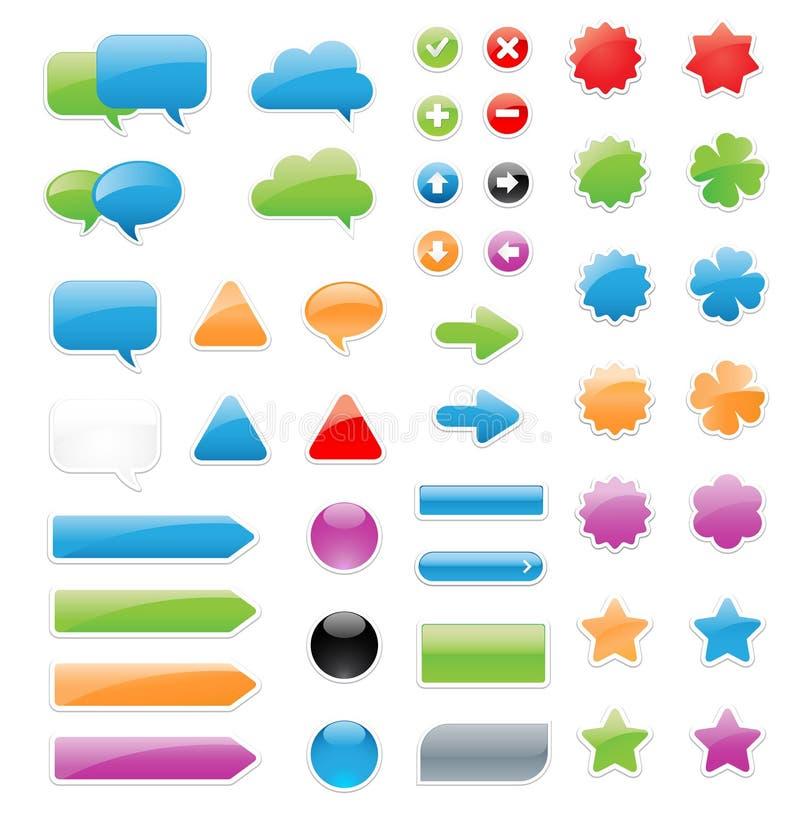 Download Label Elements stock vector. Illustration of illustration - 27013362