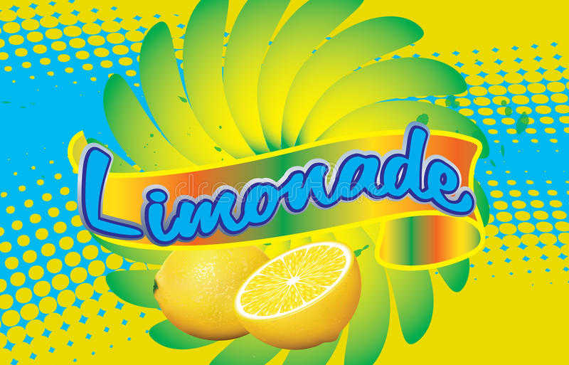 Label For Limonade Royalty Free Stock Photos