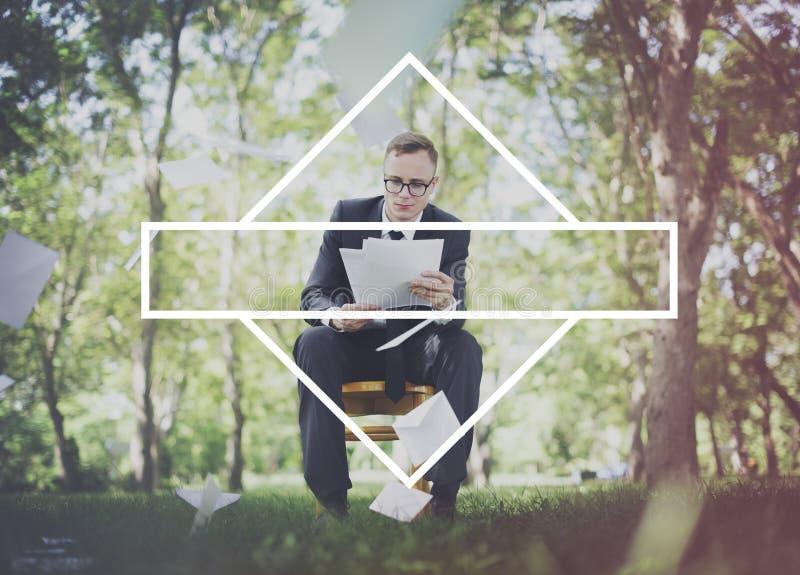 Label Mark Brand Copy Space Concept d'insigne images libres de droits