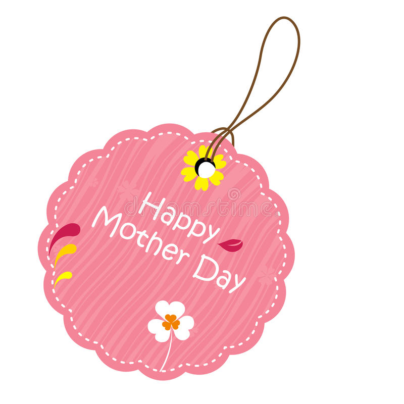 Label for mother's day vector illustration