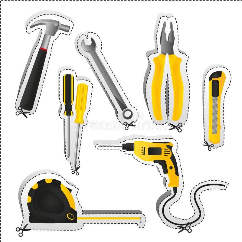 Download Label of tools stock vector. Illustration of metal, screwdriver - 25265947