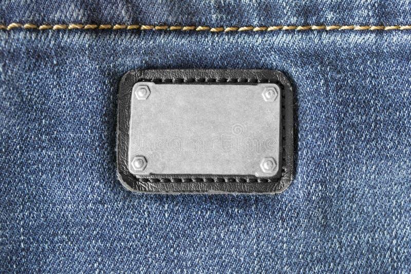 Label vide de vêtements photo stock
