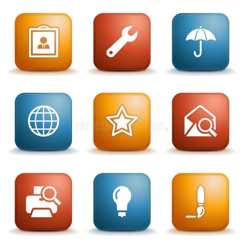 Label for website 9 vector illustration