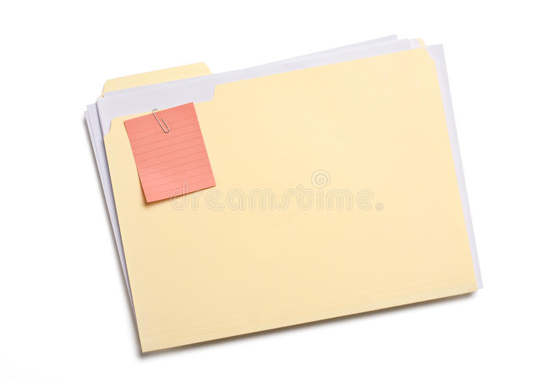 Download Labeled file folder stock image. Image of post, nobody - 13476631