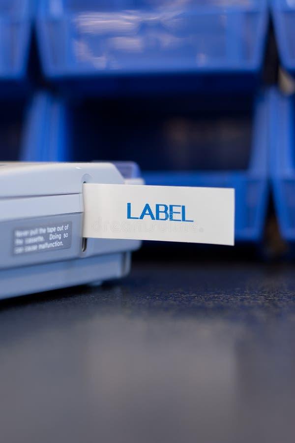 labelmaker obrazy royalty free
