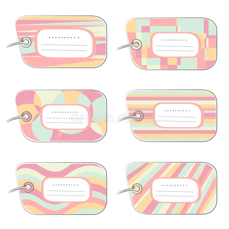 Download Labels stock vector. Image of stylized, design, decoartive - 11375242