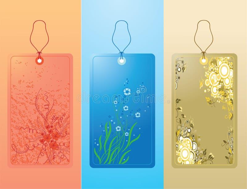 Labels royalty free illustration