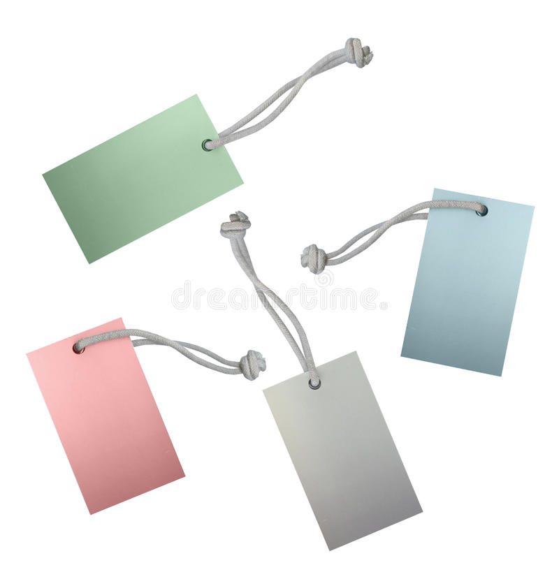 Labels isolate on white stock photos