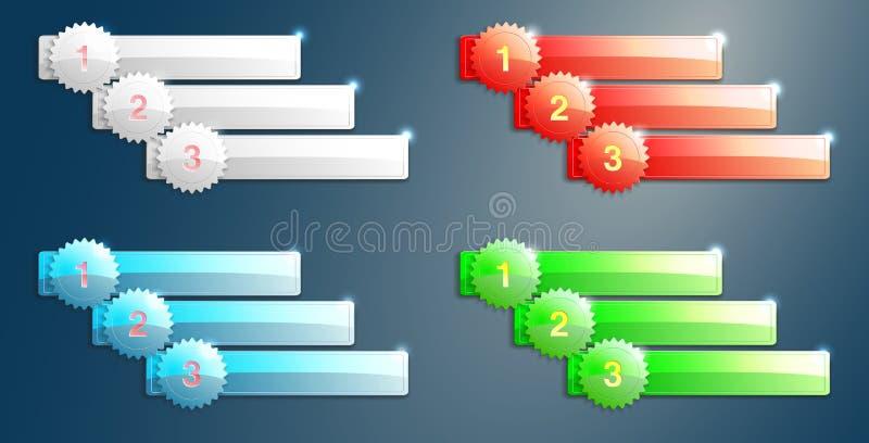Download Labels stock vector. Image of grapfic, progress, card - 32291670