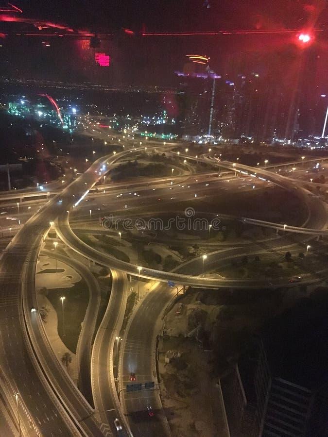 Laberinto de Dubai fotos de archivo