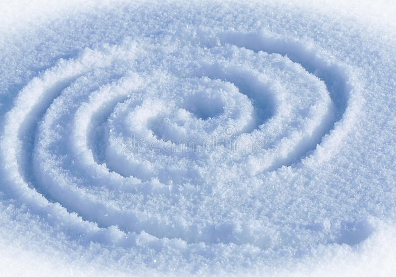 Laberinto espiral foto de archivo libre de regalías