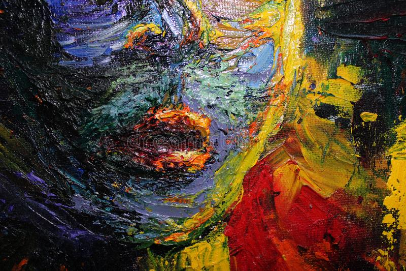 Labios de la mujer Backround del arte abstracto de Brigt fotografía de archivo libre de regalías