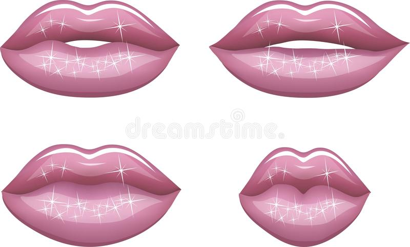 Labios rojos libre illustration