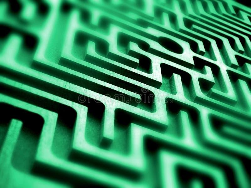Labirinth image libre de droits