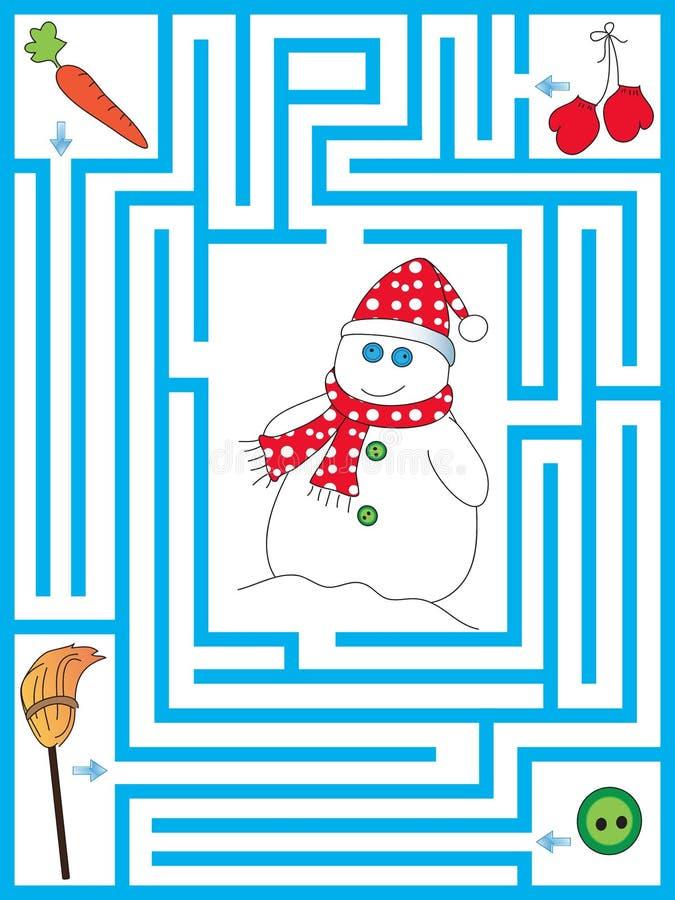 labirinto royalty illustrazione gratis