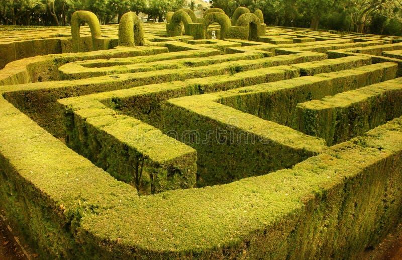Download Labirinto Verde Em Barcelona, Spain Imagem de Stock - Imagem de cena, ornamental: 29835741