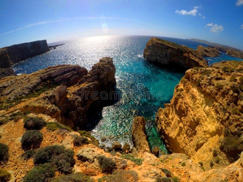 Labirinto do mar foto de stock royalty free