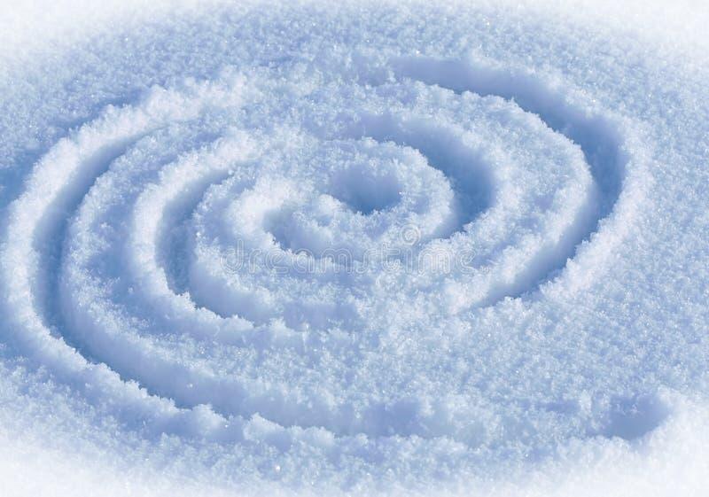Labirinto espiral foto de stock royalty free