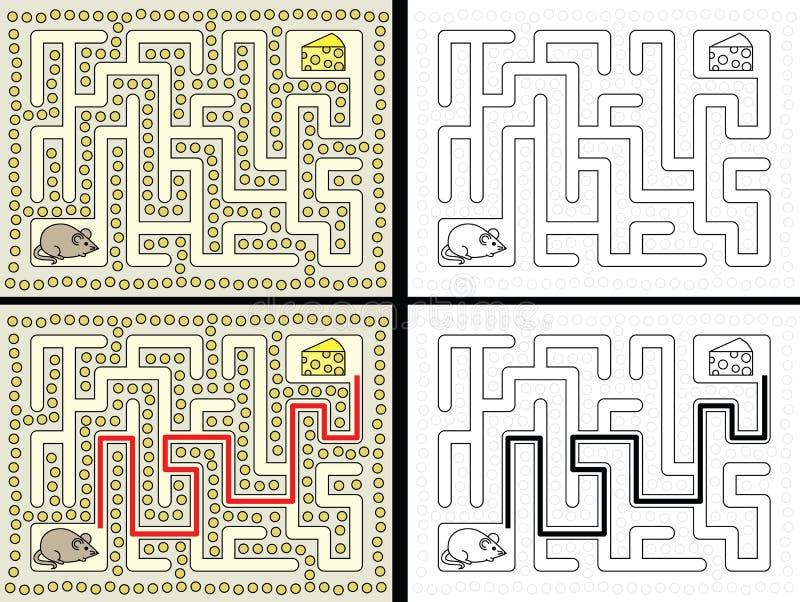 Labirinto fácil do rato