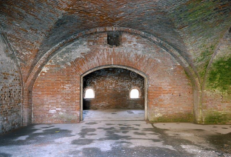 Labirinto in fortificazione fotografia stock