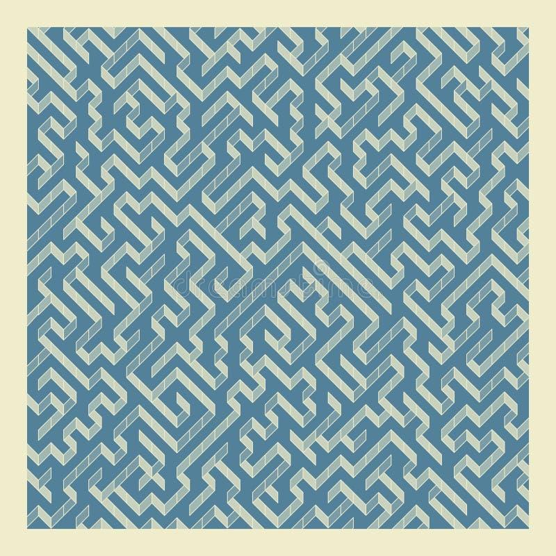Download Labirinto Illustrazione Di Vettore Del Labirinto Illustrazione Vettoriale - Illustrazione di decorativo, percorso: 56888421