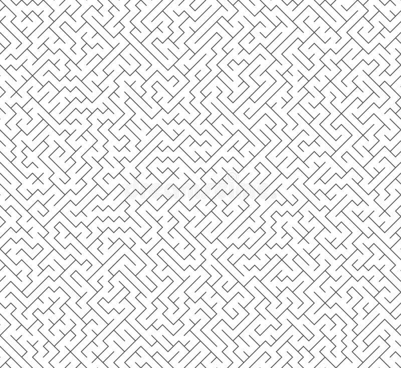 Labirinto senza cuciture del labirinto di vettore royalty illustrazione gratis