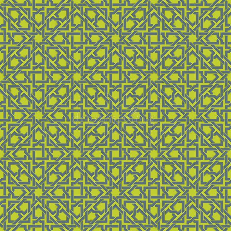 Labirinto verde ilustração do vetor