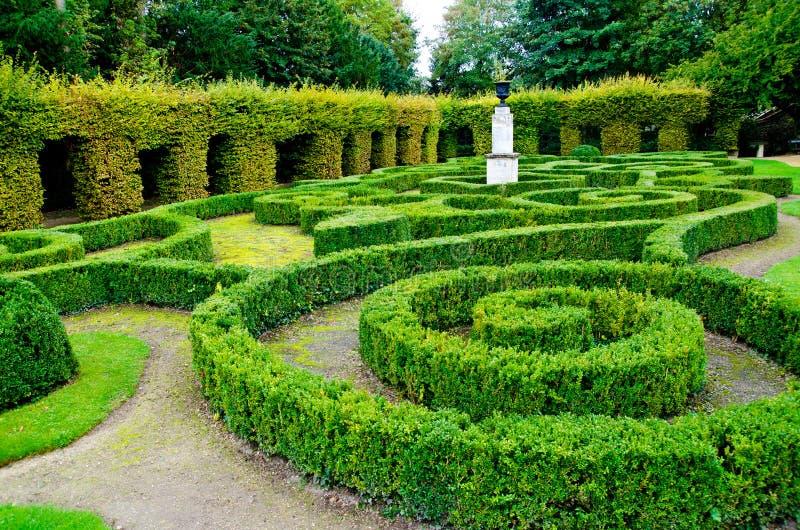 Labiryntu ogród obraz stock