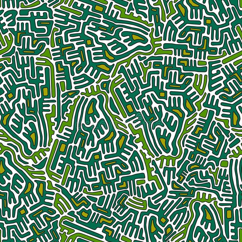 Labityntu abstrakt bezszwowy ilustracji
