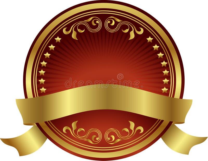 lable projekta element royalty ilustracja