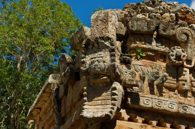 Labna archaeological site in Yucatan Peninsula, Mexico. Labna a Mesoamerican archaeological site and ceremonial center of the pre-Columbian Maya civilization stock photos