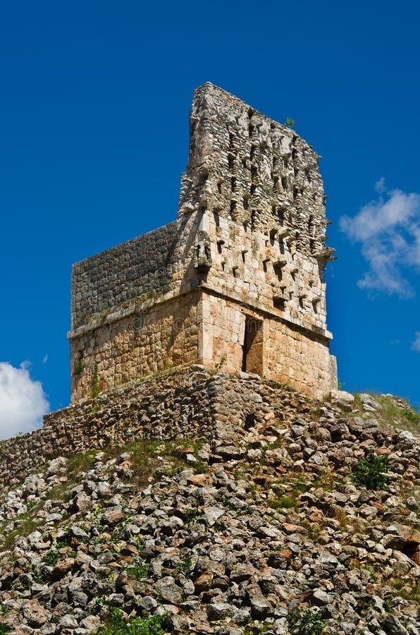 Labna archaeological site in Yucatan Peninsula, Mexico. Labna a Mesoamerican archaeological site and ceremonial center of the pre-Columbian Maya civilization stock image