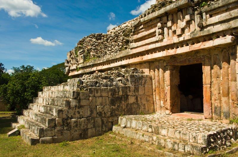 Labna archaeological site in Yucatan Peninsula, Mexico. Labna a Mesoamerican archaeological site and ceremonial center of the pre-Columbian Maya civilization royalty free stock photo