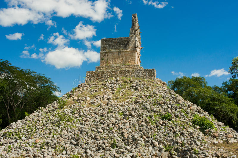 Labna archaeological site in Yucatan Peninsula, Mexico. Labna a Mesoamerican archaeological site and ceremonial center of the pre-Columbian Maya civilization royalty free stock photos