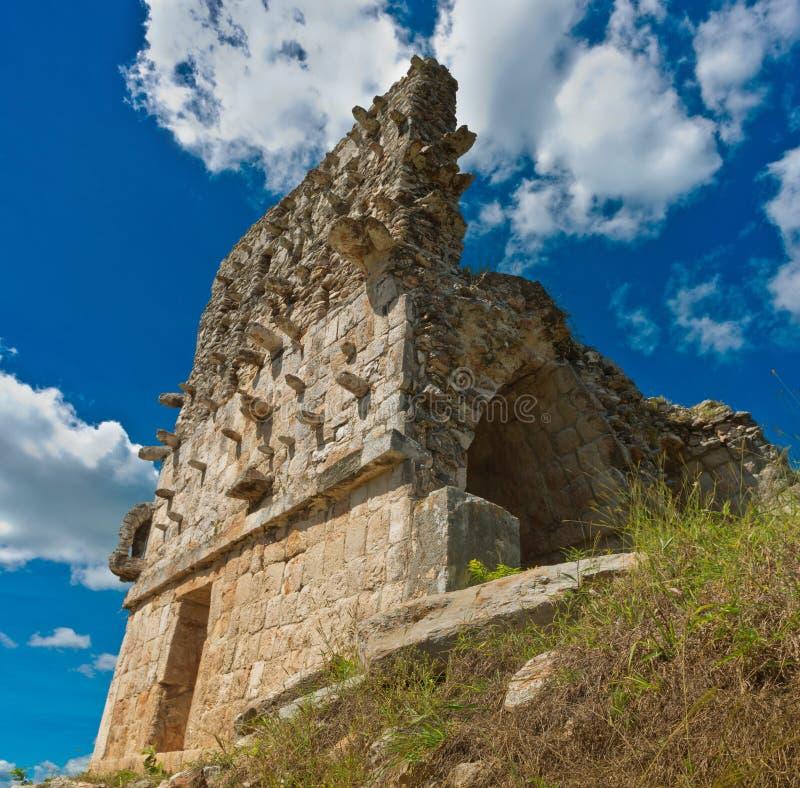 Labna archaeological site in Yucatan Peninsula, Mexico. Labna a Mesoamerican archaeological site and ceremonial center of the pre-Columbian Maya civilization stock photography