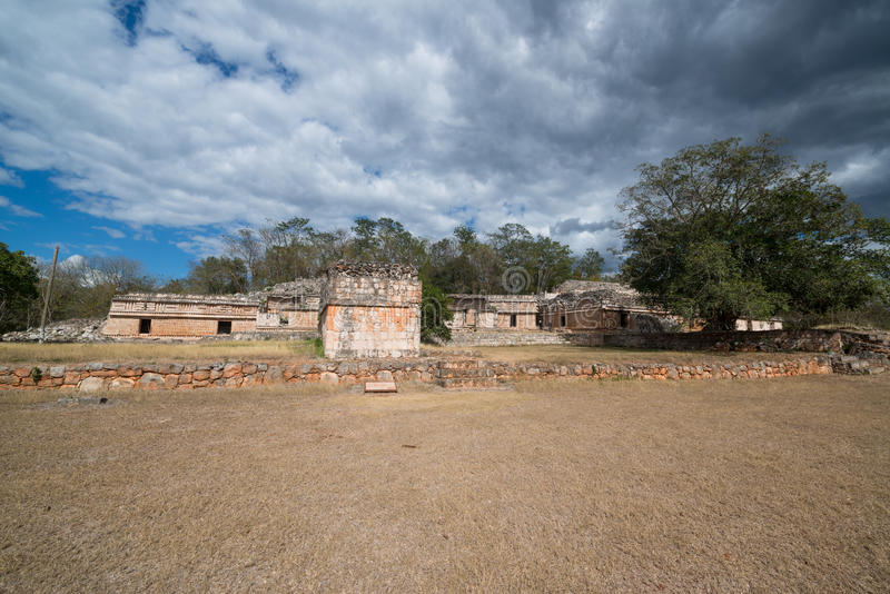 Labna mayan ruïnes stock foto's